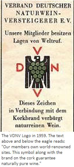 The VDNV Logo in 1959.
